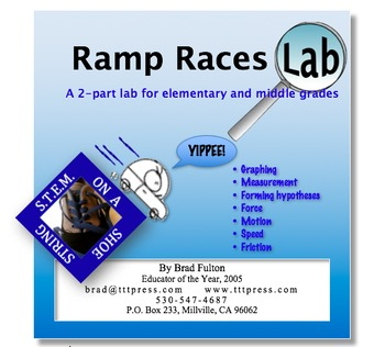 Ramp Races Lab: A S.T.E.M. on a Shoestring Activity