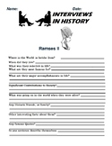 Ramses II Research and interview Assignment