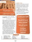 French text + activities + teacher's guide: Ramses II déménage