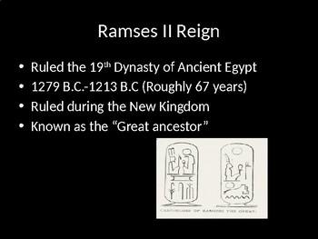 Ramses II  vs. Tutankhamen Compare and Contrast