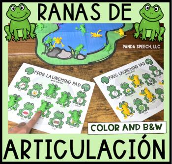 Ranas de Articulación A Speech Therapy Toy Companion (Español)