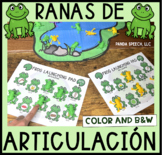 Ranas de Articulación A Speech Therapy Toy Companion (Español)
