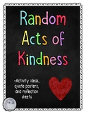 Random Act of Kindness- Activities and Reflection Sheets