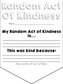 Random Act of Kindness Banner