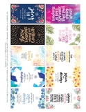 Random Act of Kindness Cards - 10 cards on an 8.5 x 11 page
