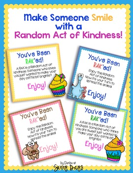 Random Act of Kindness Freebie