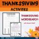 Random Act of Kindness - Thanksgiving Activity & Decor Bundle (QR & powerpoint)