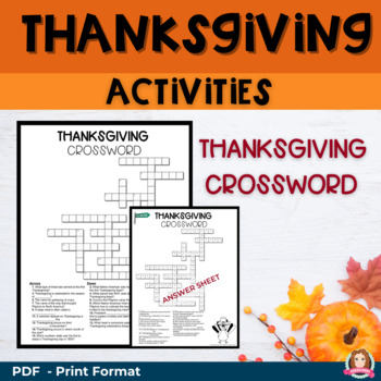 Random Act of Kindness - Thanksgiving Activity & Decor Bundle (QR & powerpoint)