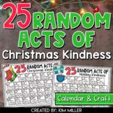 Christmas Activities: Random Acts of Christmas Kindness and Holiday Craft