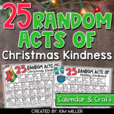 Christmas Activities: Random Acts of Christmas Kindness and Holiday Craft
