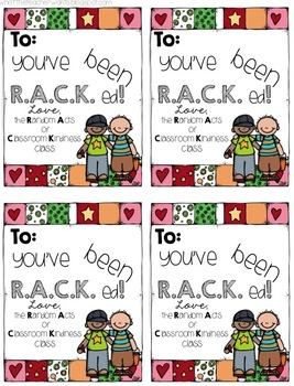 Random Acts of Classroom Kindness {Complete Pack}