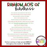 Random Acts of Kindness- December Challenge
