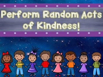 Random Acts of Kindness: A PowerPoint Lesson