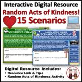 Random Acts of Kindness Activities | Digital Task Cards