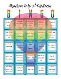 Random Acts of Kindness Bingo Board_Pre-Filled & Blank