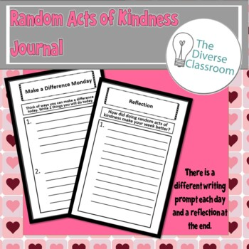 Random Acts of Kindness Booklet