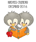 Random Acts of Kindness Calendar - December 2016