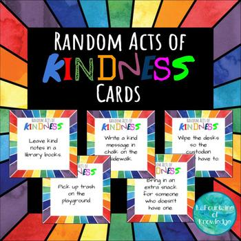 photograph relating to Random Acts of Kindness Cards Printable identify Random Functions of Kindness Playing cards