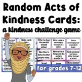 Random Acts of Kindness Cards: A Kindness Game