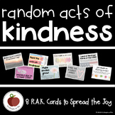 Random Acts of Kindness Printables - Challenge Cards - Choose Kind - #ChooseKind