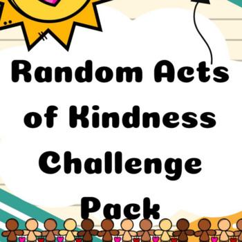 Random Acts of Kindness Challenge Pack STEAM