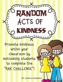 Random Acts of Kindness Challenge (RAK)
