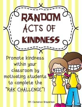 Random Acts of Kindness Challenge (RAK)