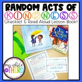 Random Acts of Kindness - Checklist & Read Aloud Activity Book