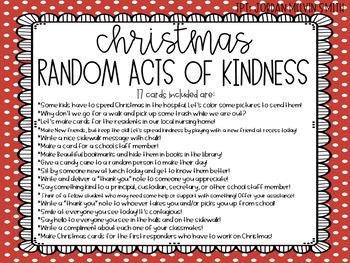Random Acts of Kindness | Christmas