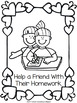 Random Acts of Kindness Coloring Book