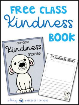 Acts of Kindness Class Book Template #kindnessnation  #weholdthesetruths
