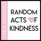 Random Acts of Kindness Flier