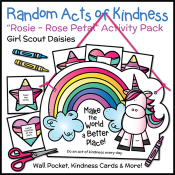 "Random Acts of Kindness - Girl Scout Daisies - ""Rosie - Rose Petal"" (Step 3)"