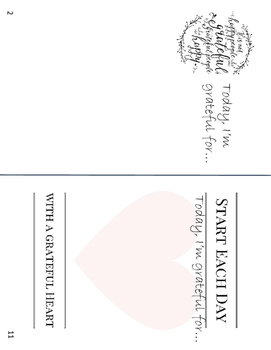 Random Acts of Kindness & Gratitude Journal Freebie