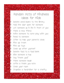 Random Acts of Kindness - Lights!