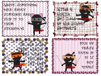 Random Acts of Kindness- Love Ninjas!