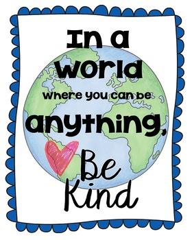 Random Acts of Kindness Posters