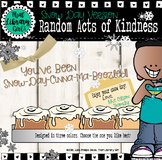 Random Acts of Kindness - Snow Day Morale Booster