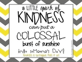 Random Acts of Kindness Tags