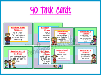 Random Acts of Kindness Task Cards