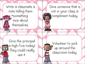 Random Acts of Kindness Valentine Challenge