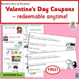 Valentine's Day Activities FREE  | SASSOON Font