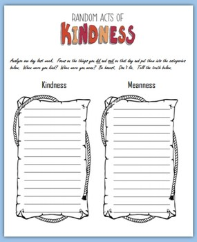 Random Acts of Kindness (Writing Prompts)