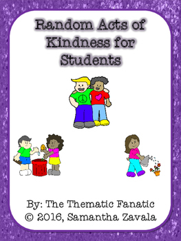 Random Acts of Kindness for Students