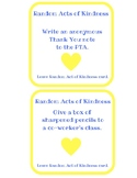 Random Acts of Kindness for Teachers and Staff Members