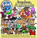 Random Animals Clipart