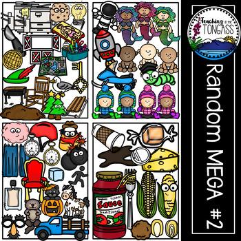 Random Clipart MEGA Set 2