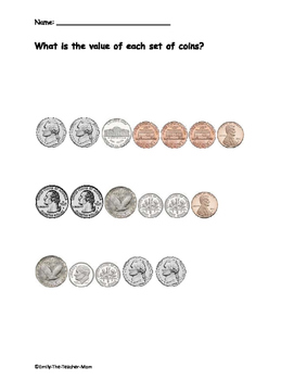 Random Coin Pages
