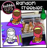 Random Freebies (scribble clips 123)