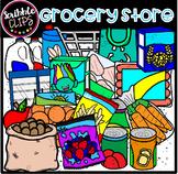 Random Grocery Store (scribble clips)